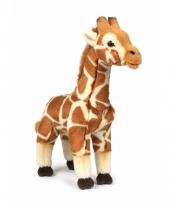 Wnf bruine knuffel giraffe 31 cm