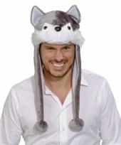 Wolf feestmuts voor volwassenen