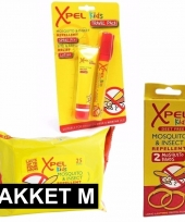 Xpel anti muggen pakket medium voor kids