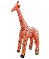 Xxl opblaas giraffe van 152 cm