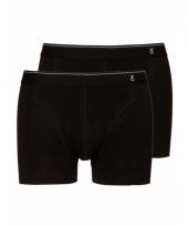 Zacht katoenen heren shorts set zwart