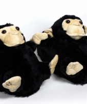Zachte dieren pantoffels aap 10059289
