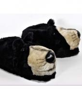 Zachte dieren pantoffels beer