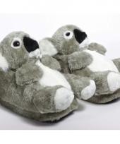 Zachte dieren pantoffels koala 10059312