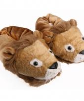 Zachte dieren pantoffels leeuw 10059317
