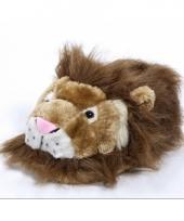 Zachte dieren pantoffels leeuw