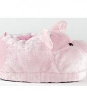 Zachte dieren pantoffels varken 10059285
