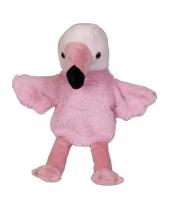 Zachte flamingo handpop
