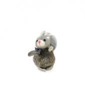Zachte stuiterbal konijn 13 cm