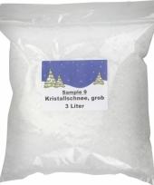 Zak kristal nep sneeuw 3 liter