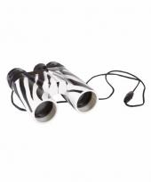 Zebra verrekijkers voor kinderen 11cm