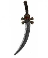Zeerover zwaard met schedels