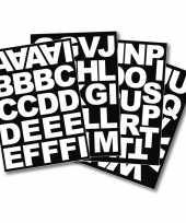 Zelfklevende blokletters stickers 5 cm