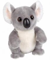 Zittende koala knuffels 18 cm
