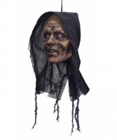 Zombie vrouw decoratie hoofd