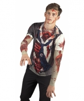 Zombie zakenman shirt