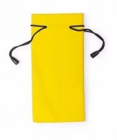 Zonnebrillen hoesjes geel