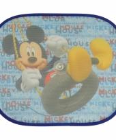 Zonwerend autoscherm mickey mouse 2 stuks
