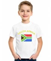 Zuid afrikaanse vlaggen t-shirts voor kinderen