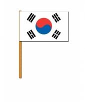Zuid koreaanse zwaaivlag