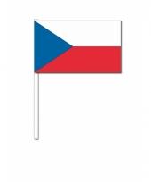 Zwaaivlaggetje tsjechische vlag