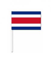 Zwaaivlaggetjes costa rica vlag