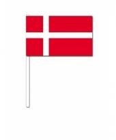 Zwaaivlaggetjes deense vlag