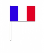 Zwaaivlaggetjes frankrijk vlag