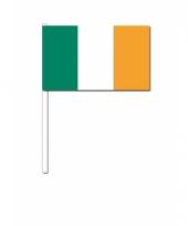 Zwaaivlaggetjes ierse vlag