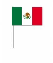 Zwaaivlaggetjes mexicaanse vlag