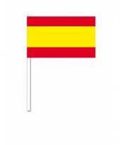 Zwaaivlaggetjes spanje vlag