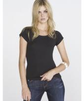 Zwart bella shirt voor dames