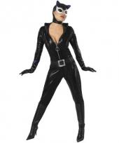 Zwart catwoman pak compleet