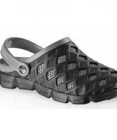 Zwart grijze water sandalen