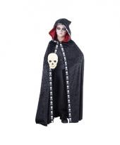 Zwarte halloween cape voor kids