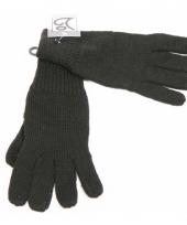 Zwarte handschoenen volwassenen