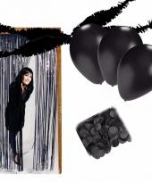 Zwarte kamer decoreren pakket