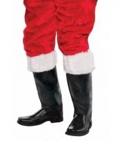 Zwarte kerstmannen schoenhoezen