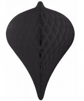 Zwarte pegel versiering 30 cm