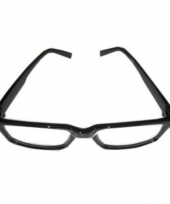 Zwarte recht model bril ushi