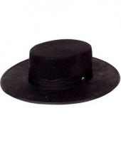Zwarte spaanse hoeden