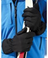 Zwarte waterdichte handschoenen