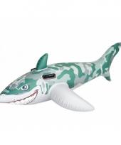Zwembad witte haai 183 cm