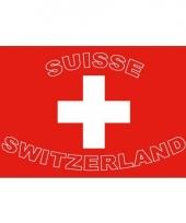Zwitserland fan vlag